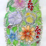 Trinneta Floral and diamond Bracelet